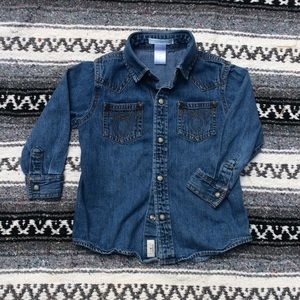 Janie and Jack Denim Shirt 2T
